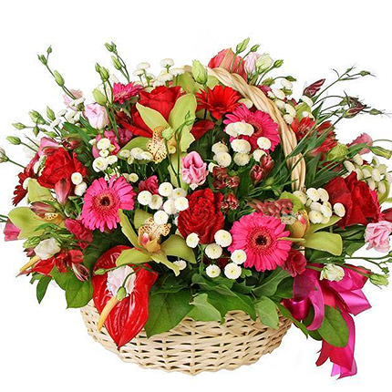 "Flower Basket ""Luxury""  - buy in Ukraine"