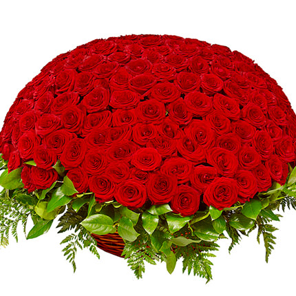 251 red roses  - buy in Ukraine