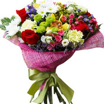 "Bouquet ""Flower mix""  - buy in Ukraine"