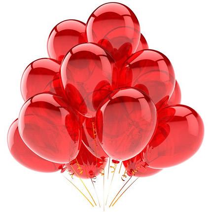 19 гелиевых шариков  - купить в Украине
