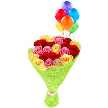 """Bright bouquet """"Kaleidoscope of love""""  - buy in Ukraine"""