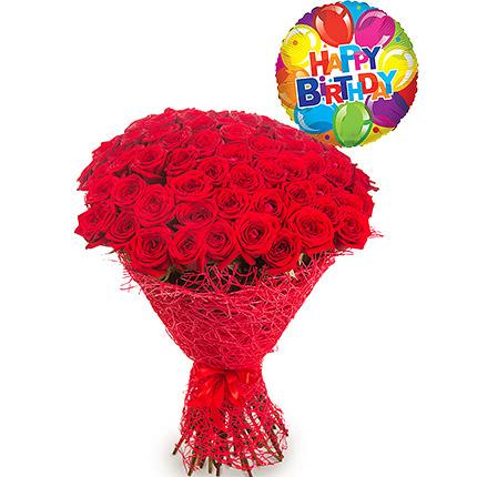 """Bouquet """"Happy birthday, darling!""""  - buy in Ukraine"""