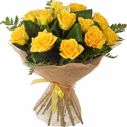 Bouquet of yellow roses  - buy in Ukraine