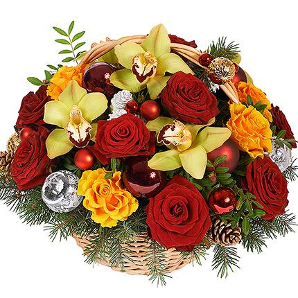 "Basket ""New Year fireworks""  - buy in Ukraine"