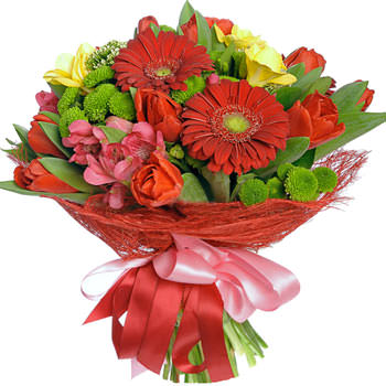 """Bouquet """"Flame of passion""""  - buy in Ukraine"""