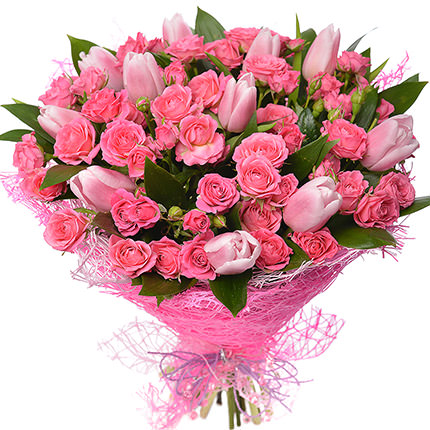 """Romantic bouquet """"Queen""""  - buy in Ukraine"""