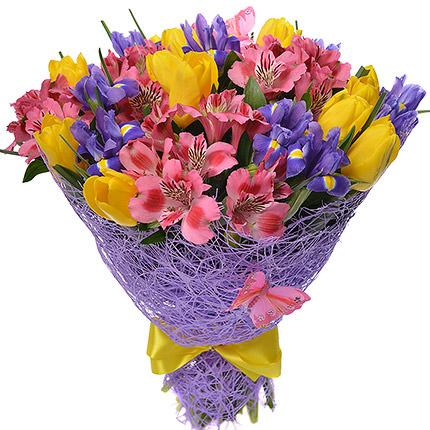"""Romantic bouquet """"Purple Haze""""  - buy in Ukraine"""