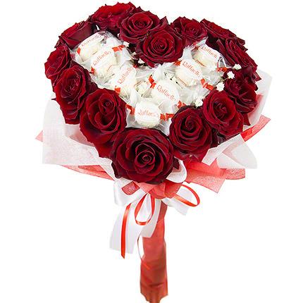 """Bouquet """"Happiness exists!""""  - buy in Ukraine"""