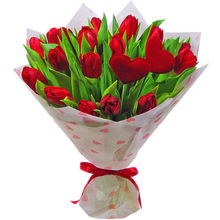 "Romantic bouquet ""I Love ...!""  - buy in Ukraine"