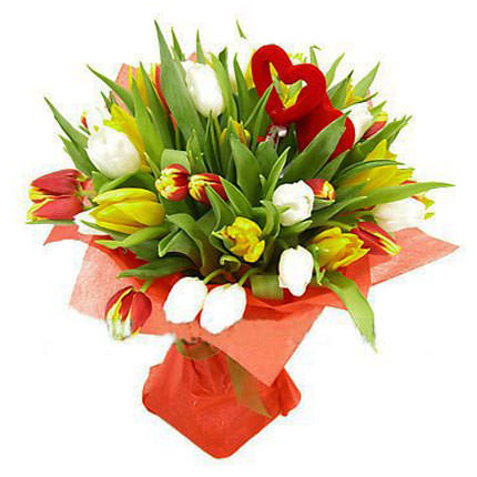 "Bouquet ""Two Hearts""  - buy in Ukraine"