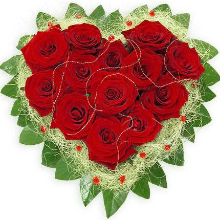 Сердце роз  - купить в Украине