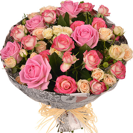 "Stylish bouquet ""Retro""  - buy in Ukraine"