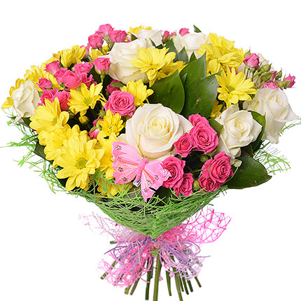 "Delicate bouquet ""To lovely Sunny!""  - buy in Ukraine"