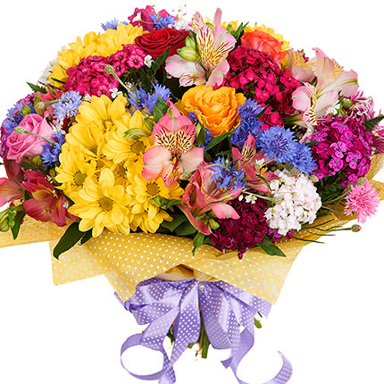 "Bright bouquet ""Hawaiian Flowers""  - buy in Ukraine"