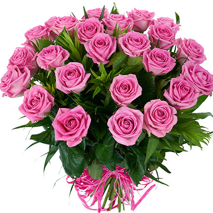 25 pink roses  - buy in Ukraine