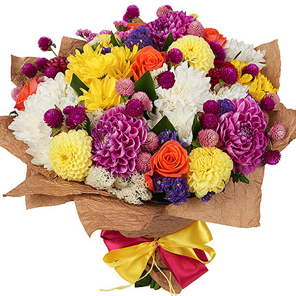 "Bright bouquet ""Please your beloved""  - buy in Ukraine"
