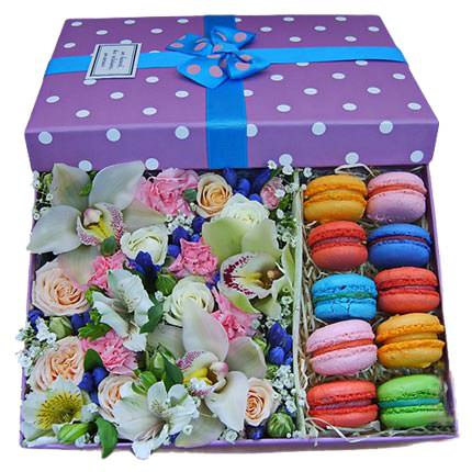 "Composition in a box ""Dream of a sweet tooth""  - buy in Ukraine"