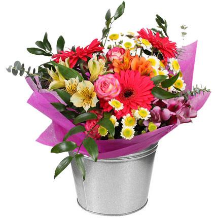 "Bouquet in a pot ""Watercolor""  - buy in Ukraine"