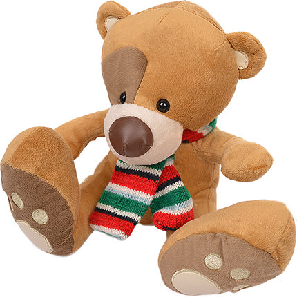Bear with scarf  - buy in Ukraine