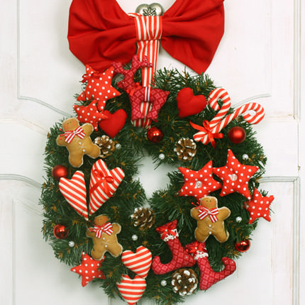 "Christmas Wreath ""Family Happiness""  - buy in Ukraine"