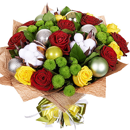"Bright bouquet ""Winter's Tale""  - buy in Ukraine"