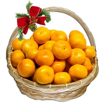 """Корзина фруктов """"Сладкие мандаринки""""  - купить в Украине"""