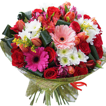 "Bright bouquet ""For your favorite!""  - buy in Ukraine"