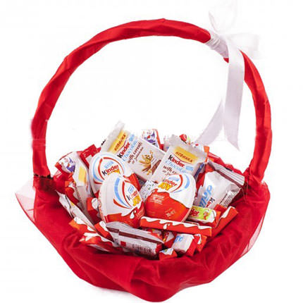 "Basket ""To favorite sweet tooth""  - buy in Ukraine"