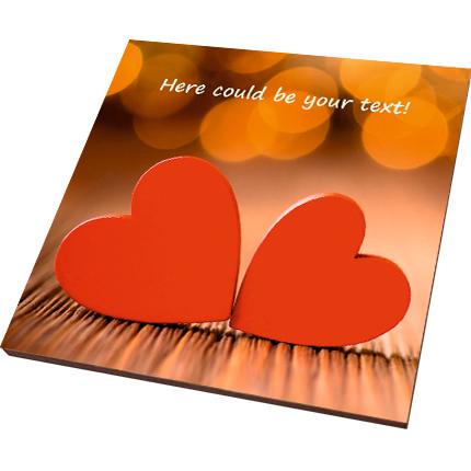 "Postcard-magnet ""With love!""  - buy in Ukraine"