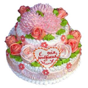 Торт на День народження  - придбати в Україні