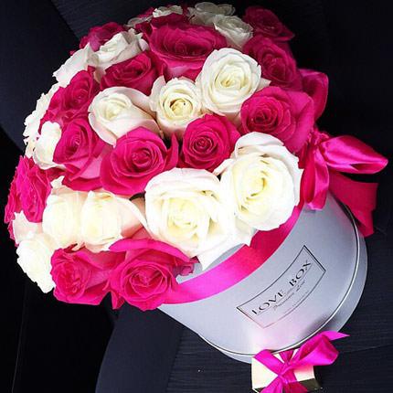 """Цветы в коробке """"Мечты принцессы""""  - купить в Украине"""