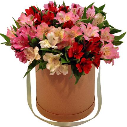 """Цветы в коробке """"Цвет счастья""""  - купить в Украине"""