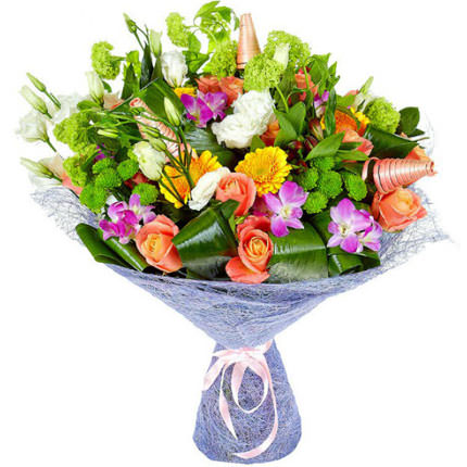 "Bouquet ""Flower Jazz""  - buy in Ukraine"