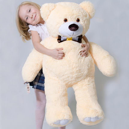Giant Teddy Bear (beige)  - buy in Ukraine