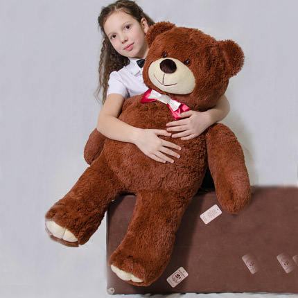 Giant Teddy Bear (brown)  - buy in Ukraine