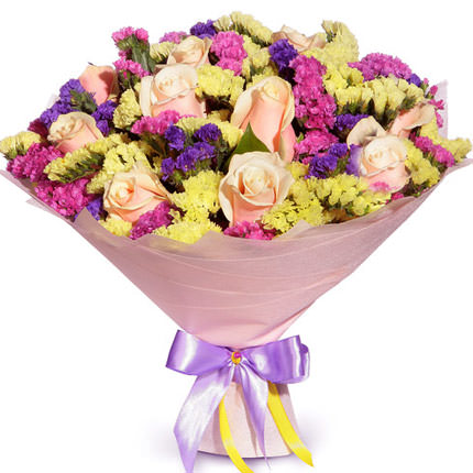 "Romantic bouquet ""All for you!""  - buy in Ukraine"