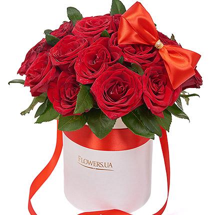 """Цветы в коробке """"I Love You""""  - купить в Украине"""