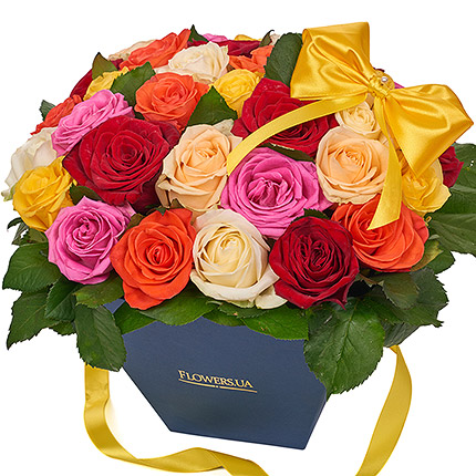 "Flowers in a box ""Summer exclusive""  - buy in Ukraine"
