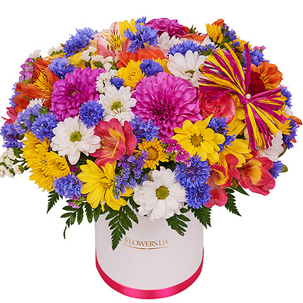 "Flowers in a box ""Summer romance""  - buy in Ukraine"