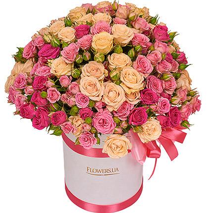 """Цветы в коробке """"Для моей милой""""  - купить в Украине"""