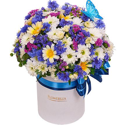 """Цветы в коробке """"Симпатяжка""""  - купить в Украине"""