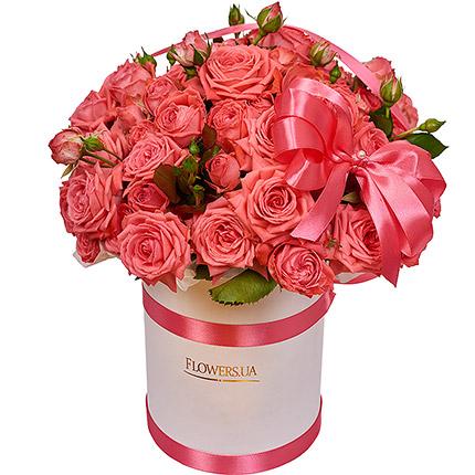 """Квіти в коробці """"Закоханість""""  - придбати в Україні"""