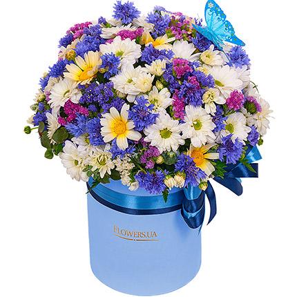 """Цветы в коробке """"Симпатяжка!""""  - купить в Украине"""