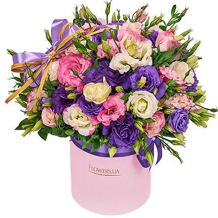 """Цветы в коробке """"Неземная красота!""""  - купить в Украине"""