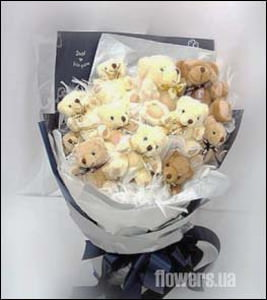 Bear Bouquet  - buy in Ukraine
