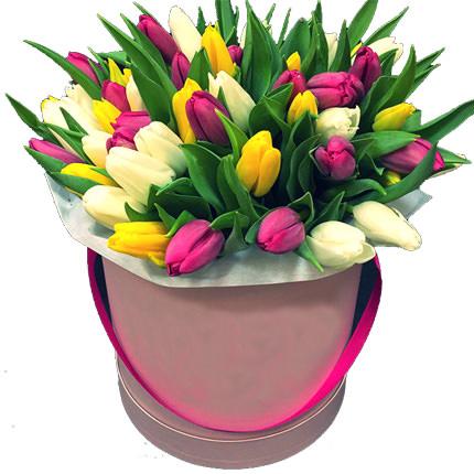 """Цветы в коробке """"Моей неповторимой""""  - купить в Украине"""