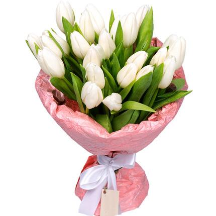21 white tulip  - buy in Ukraine