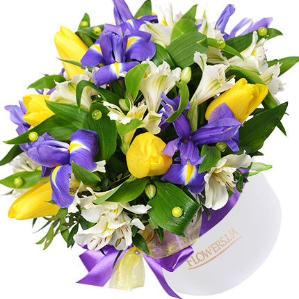 """Flowers in a box """"You are my Miracle!""""  - buy in Ukraine"""