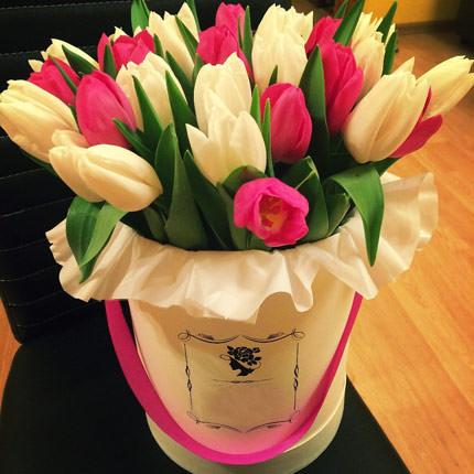 """Цветы в коробке """"Весна!""""  - купить в Украине"""