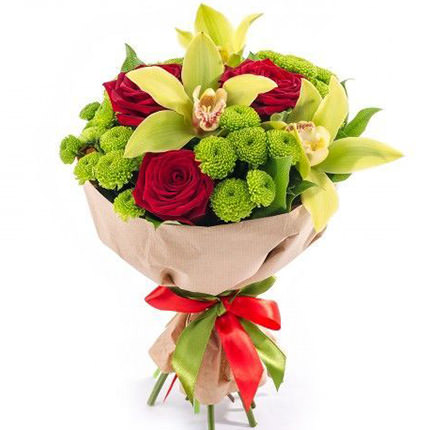 "Solemn bouquet ""Spring style""  - buy in Ukraine"